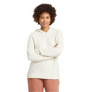 NWT A New Day Hoodie Pullover Sweater XS Cream